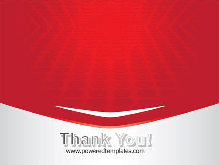 Red Circles Texture PowerPoint Template Slide 20