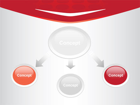 Red Circles Texture PowerPoint Template Slide 4