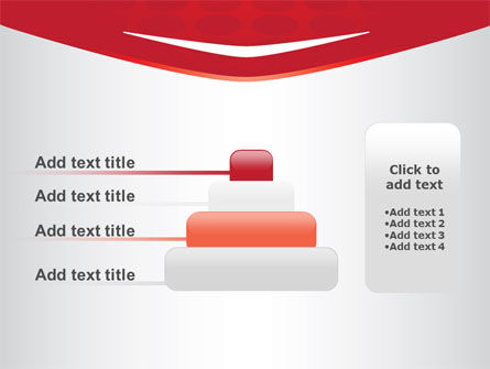 Red Circles Texture PowerPoint Template Slide 8