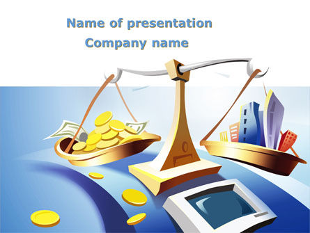 Legal: Legal Support Of Real Estate PowerPoint Template #08917