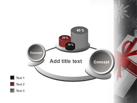 Christmas Present Box PowerPoint Template Slide 16