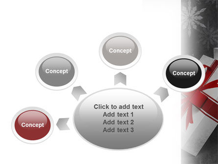 Christmas Present Box PowerPoint Template Slide 7