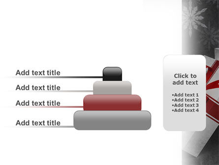 Christmas Present Box PowerPoint Template Slide 8