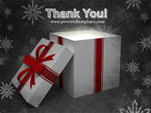 Christmas Present Box PowerPoint Template#20
