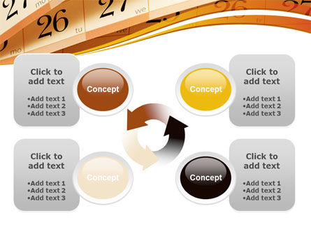 Calendar PowerPoint Template Slide 9