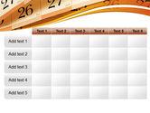 Calendar PowerPoint Template#15