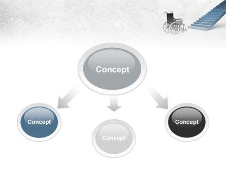 Wheel Chair PowerPoint Template, Slide 4, 08922, Religious/Spiritual — PoweredTemplate.com