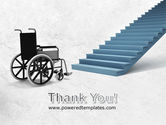 Wheel Chair PowerPoint Template#20