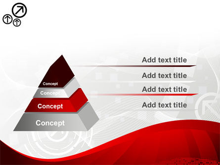 Red Wave Theme PowerPoint Template Slide 12