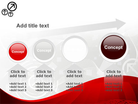 Red Wave Theme PowerPoint Template Slide 13