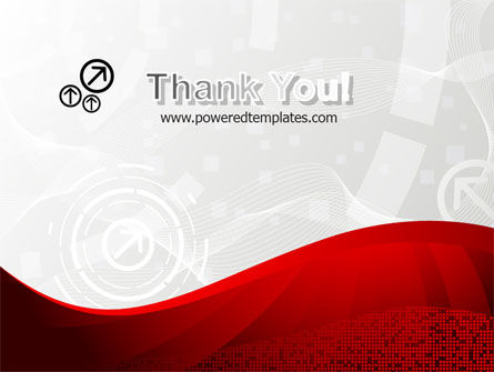 Red Wave Theme PowerPoint Template Slide 20
