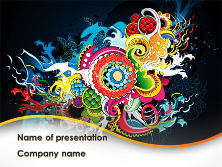 Holiday/Special Occasion: Chinese Pattern PowerPoint Template #08926