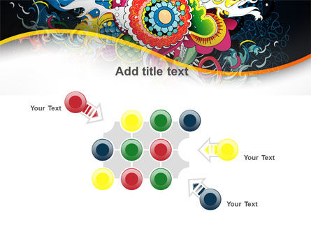 Chinese Pattern PowerPoint Template Slide 10