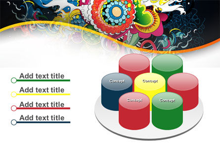Chinese Pattern PowerPoint Template Slide 12