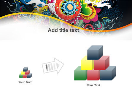 Chinese Pattern PowerPoint Template Slide 13
