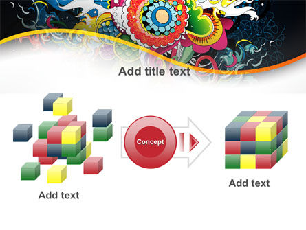 Chinese Pattern PowerPoint Template Slide 17