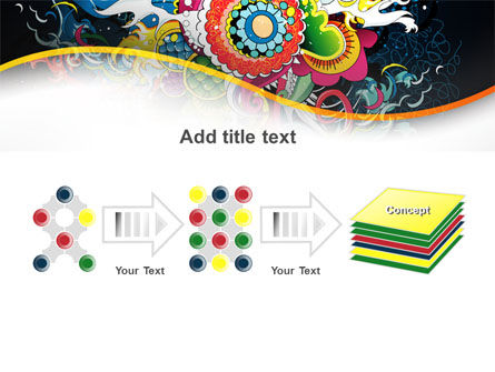 Chinese Pattern PowerPoint Template Slide 9