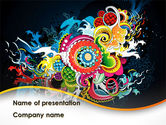 Chinese Pattern PowerPoint Template#1
