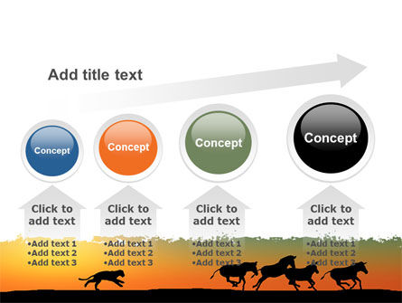 Savannah Sunset PowerPoint Template Slide 13