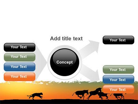 Savannah Sunset PowerPoint Template Slide 14