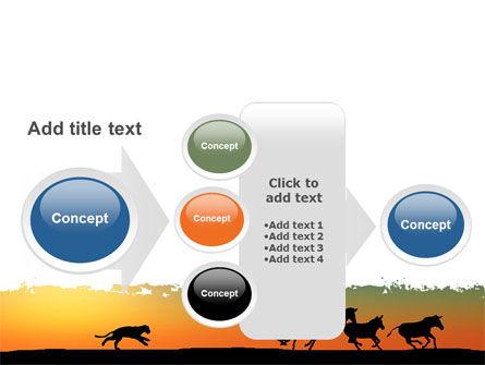 Savannah Sunset PowerPoint Template Slide 17