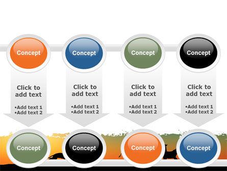 Savannah Sunset PowerPoint Template Slide 18