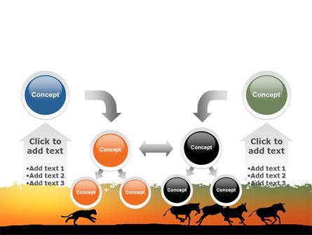 Savannah Sunset PowerPoint Template Slide 19