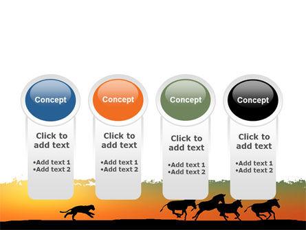 Savannah Sunset PowerPoint Template Slide 5