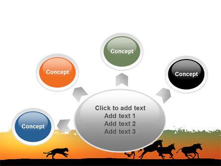 Savannah Sunset PowerPoint Template Slide 7