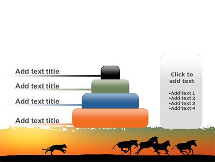 Savannah Sunset PowerPoint Template Slide 8