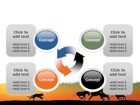 Savannah Sunset PowerPoint Template Slide 9