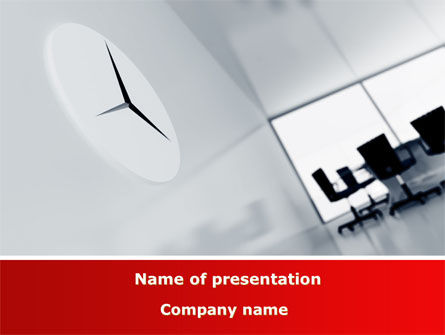 Office Time PowerPoint Template, 08928, Business — PoweredTemplate.com