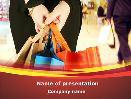 Expensive Shopping PowerPoint Template