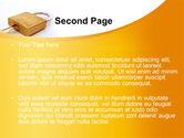 Brass Padlock PowerPoint Template#2