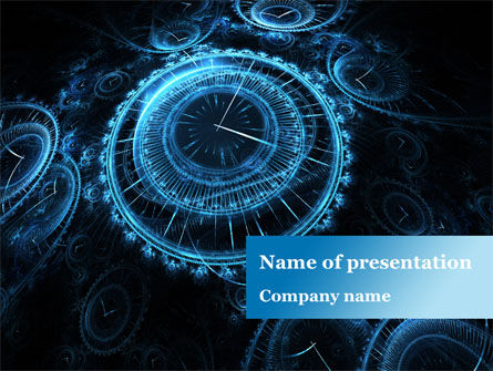 Ticking Time PowerPoint Template, 08931, Consulting — PoweredTemplate.com