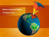Education & Training: Geological Strata PowerPoint Template #08932