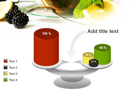 Mulberry Tea PowerPoint Template Slide 10
