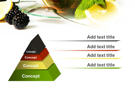 Mulberry Tea PowerPoint Template Slide 12