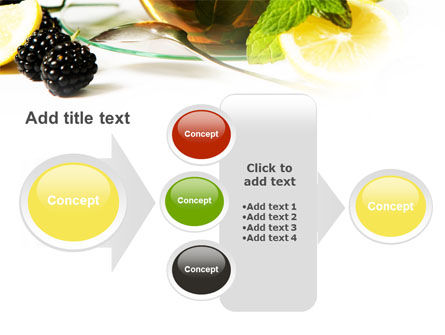 Mulberry Tea PowerPoint Template Slide 17