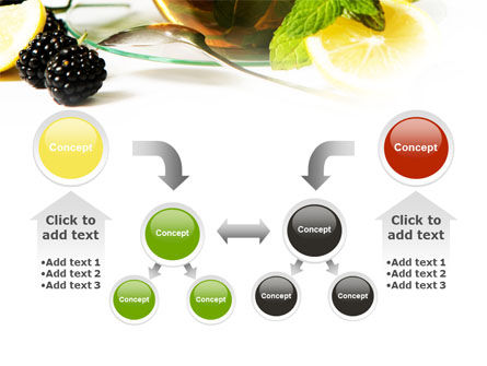 Mulberry Tea PowerPoint Template Slide 19