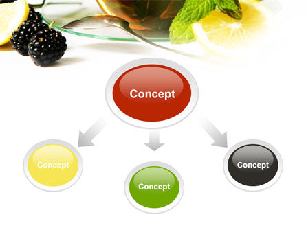 Mulberry Tea PowerPoint Template Slide 4