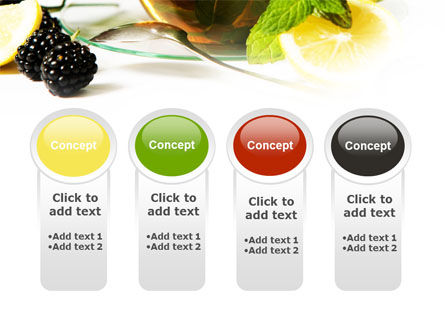 Mulberry Tea PowerPoint Template Slide 5