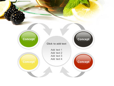 Mulberry Tea PowerPoint Template Slide 6