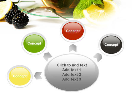 Mulberry Tea PowerPoint Template Slide 7