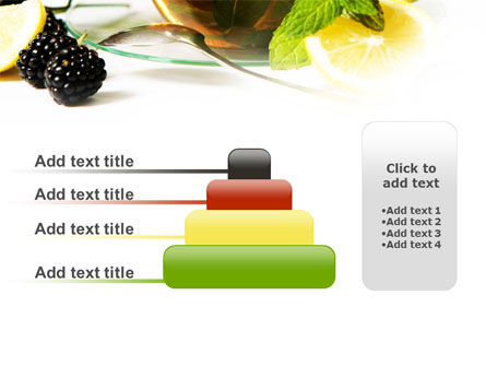 Mulberry Tea PowerPoint Template Slide 8