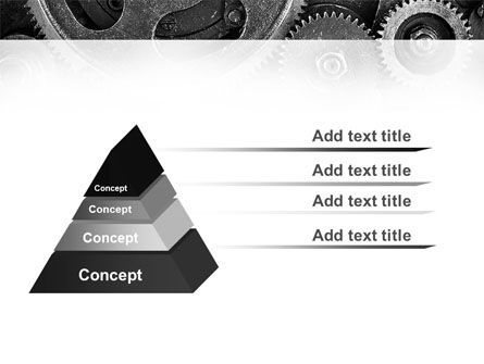 Cog Wheels PowerPoint Template, Slide 4, 08934, Utilities/Industrial — PoweredTemplate.com