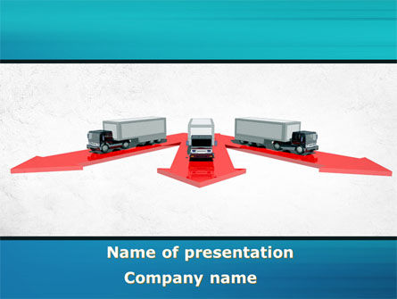 Freight Car Logistics PowerPoint Template