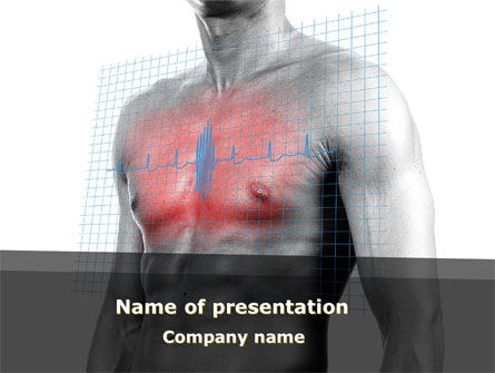 Medical: Heart Attack PowerPoint Template #08936