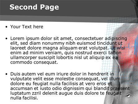 Heart Attack PowerPoint Template, Slide 2, 08936, Medical — PoweredTemplate.com