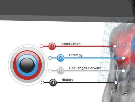 Heart Attack PowerPoint Template, Slide 3, 08936, Medical — PoweredTemplate.com